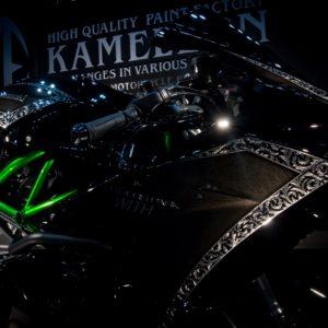 【3Dペイント PAINT】R.P.WITH KAWASAKI Ninja H2【KAMELEON カメレオン】